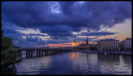 Stockholms sunset XI by PaVet-Photography