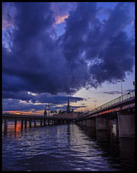 Stockholms sunset XIII by PaVet-Photography