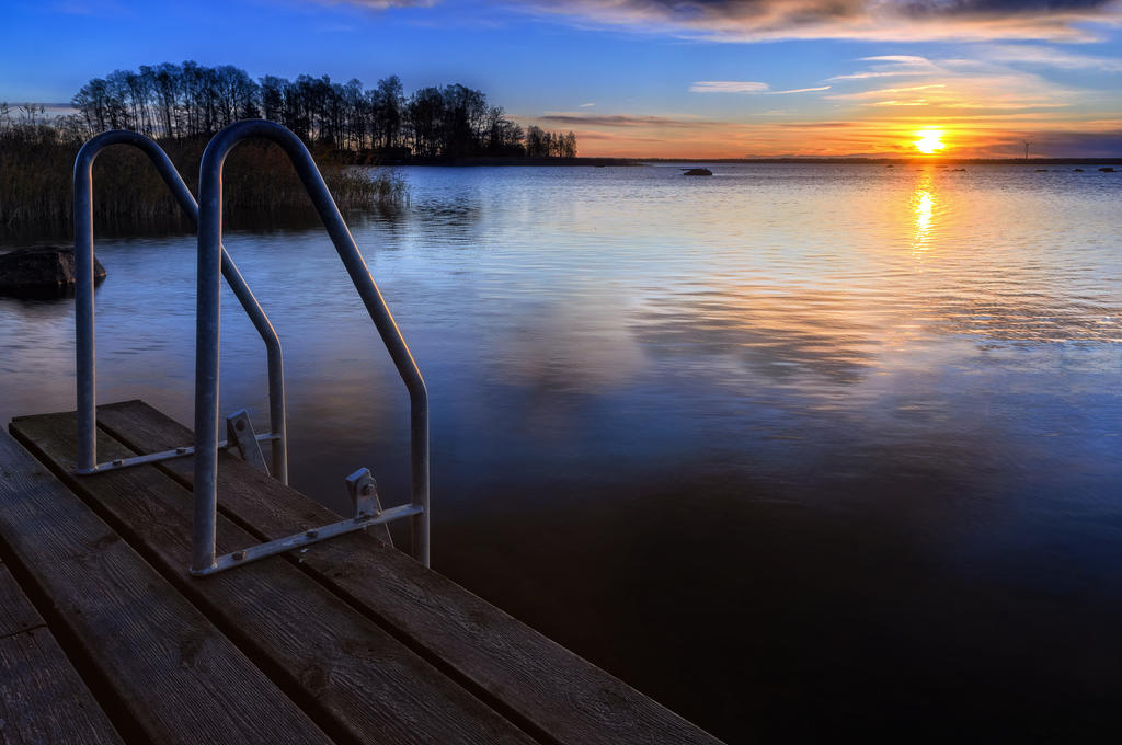 Cold waters of Hjalmaren IV by PaVet-Photography on DeviantArt