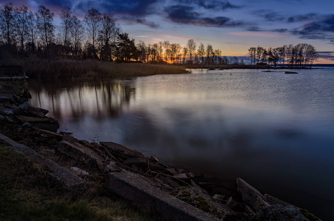 Cold waters of Hjalmaren II by PaVet-Photography on DeviantArt