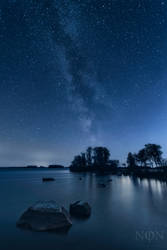 Lake of thousands stars by PaVet-Photography