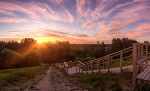 Sunrise at Vivalla hill