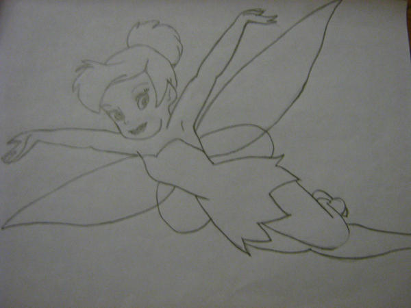 Tinkerbell Outline