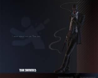 TF2 Spy Wallpaper by Klashmyag