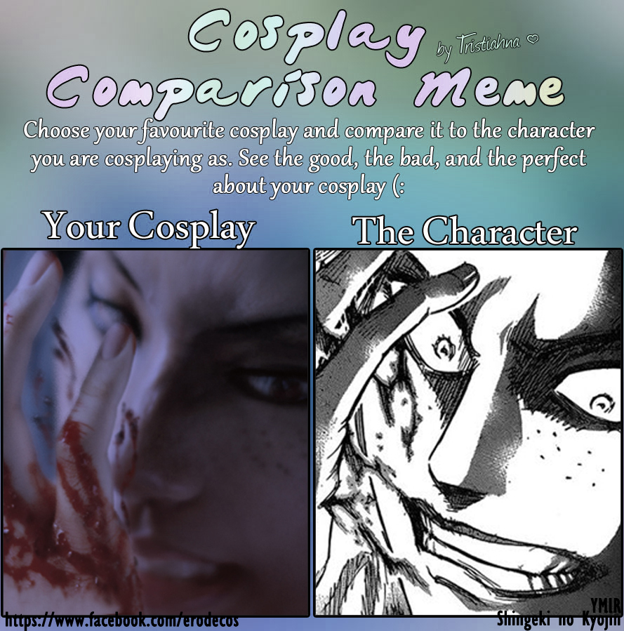 Cosplay Comparison Meme: Ymir by ero-de
