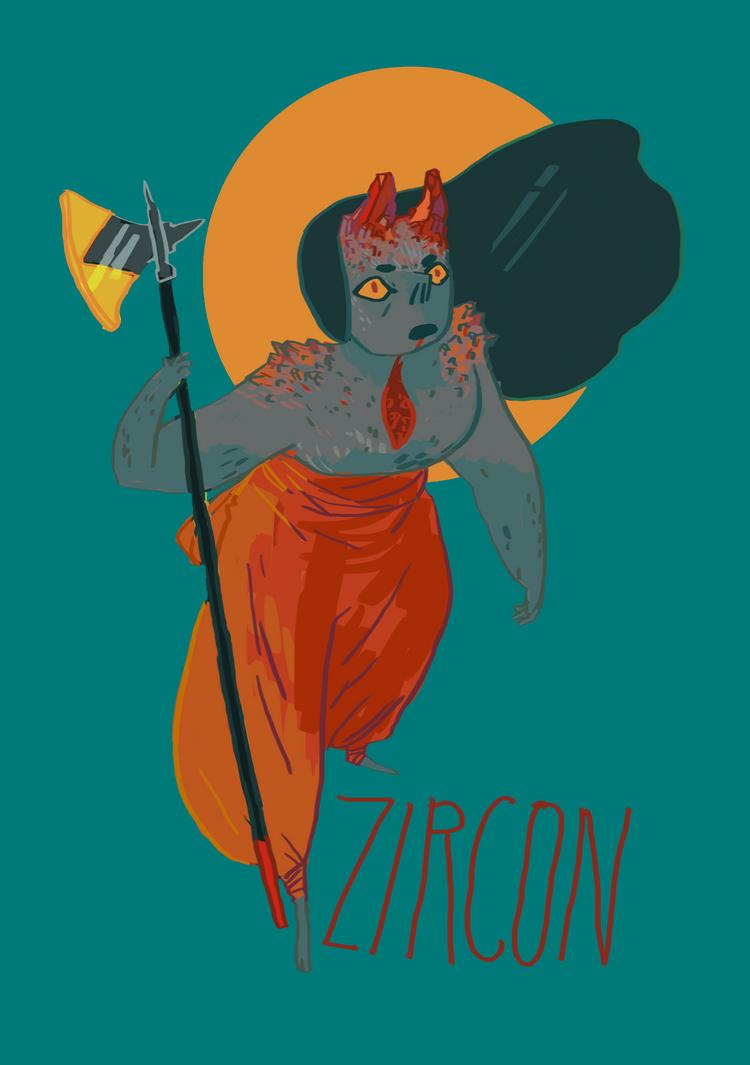 Zircon by anonbea