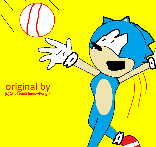 Sonicball by Ghostbustersmaniac