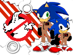 Ghostbuster Sonic by Ghostbustersmaniac