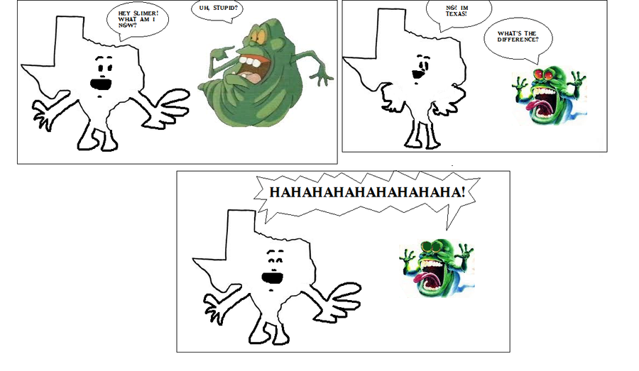 Best Spongebob Scene now with Ghostbuster people by Ghostbustersmaniac