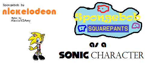 Spongebob in Sonic Advance 3 by Ghostbustersmaniac