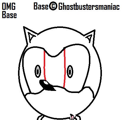 Sonic X - OMG Base by Ghostbustersmaniac