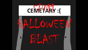 SPM1 Halloween Blast Title Screen by Ghostbustersmaniac