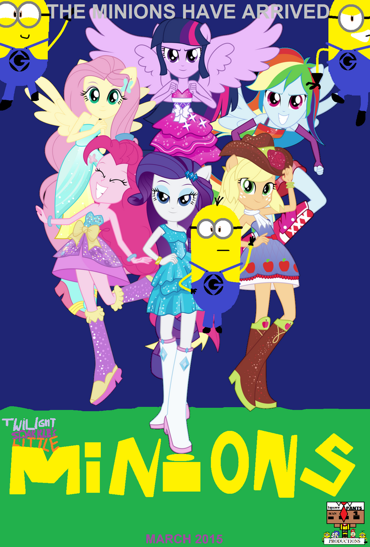 Twilight Sparkle's Little Minions - Final Poster by Ghostbustersmaniac