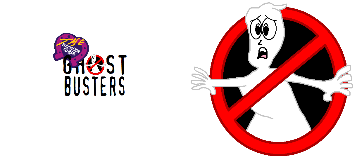 The Equestria Girls Ghostbusters Title and Logo by Ghostbustersmaniac