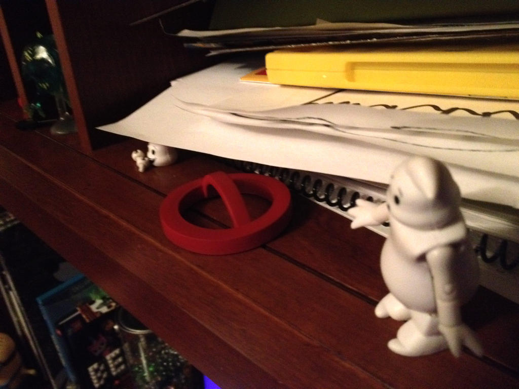 Icon Ghost Found Killerwatt (MINIMATES) by Ghostbustersmaniac