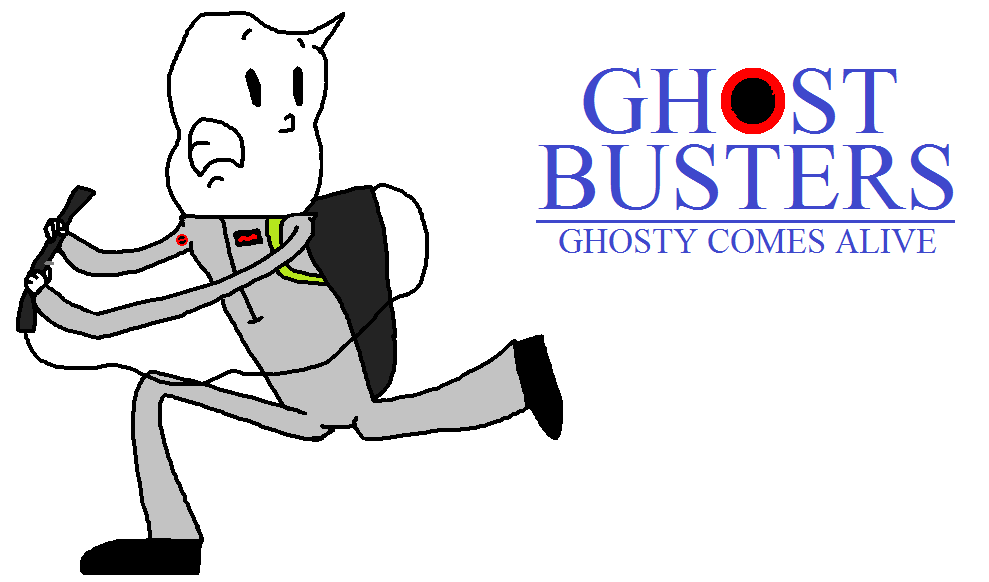 Ghosty the Ghostbuster by Ghostbustersmaniac