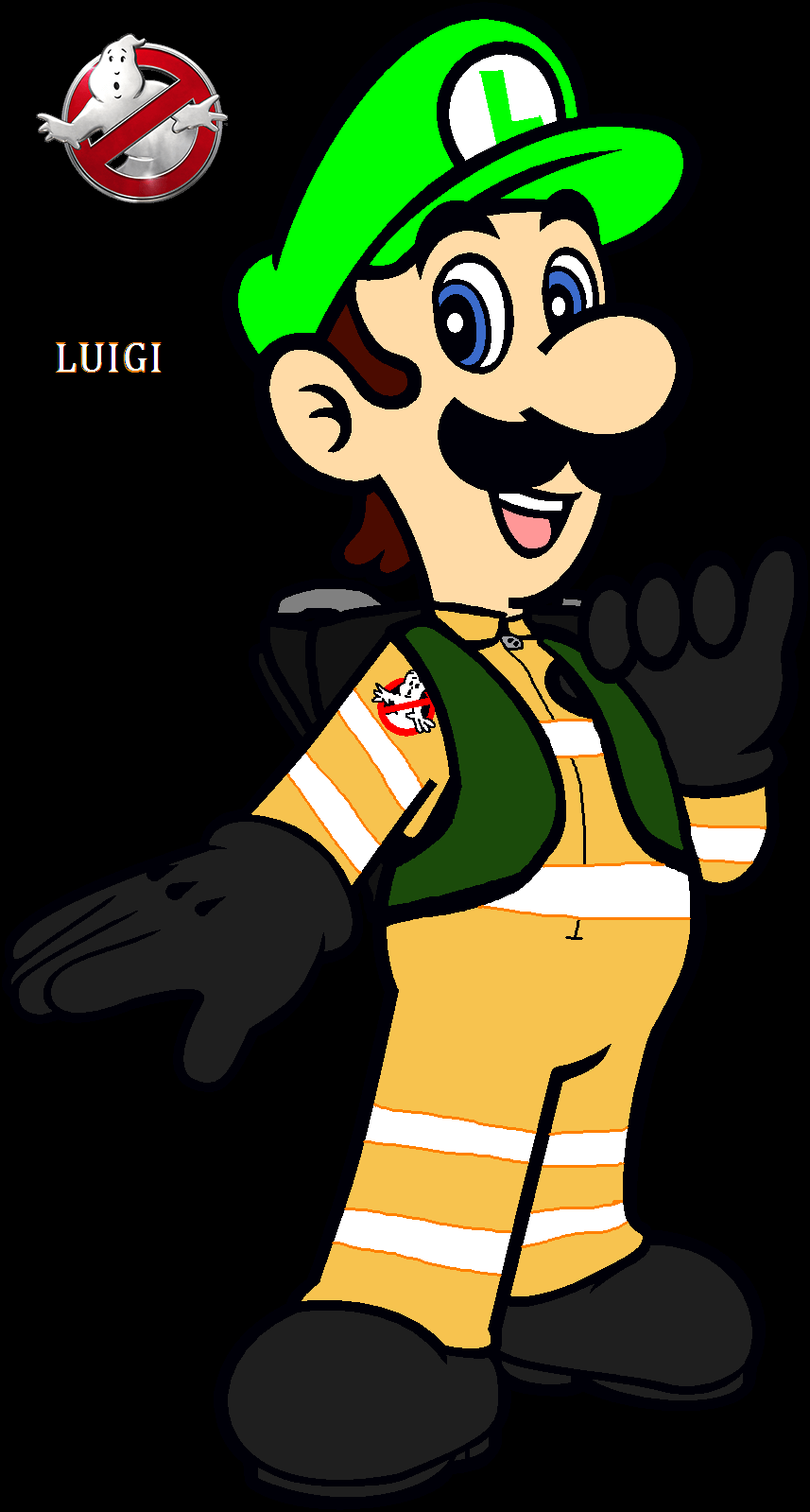 Ghostbuster Luigi (Rebooted) by Ghostbustersmaniac