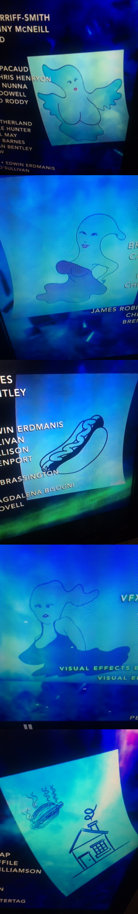 All of Kevin's logos in the Ghostbusters credits. by Ghostbustersmaniac