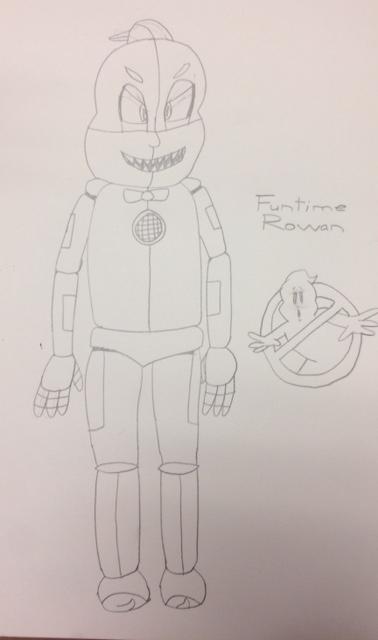 Funtime Rowan (I guess) by Ghostbustersmaniac