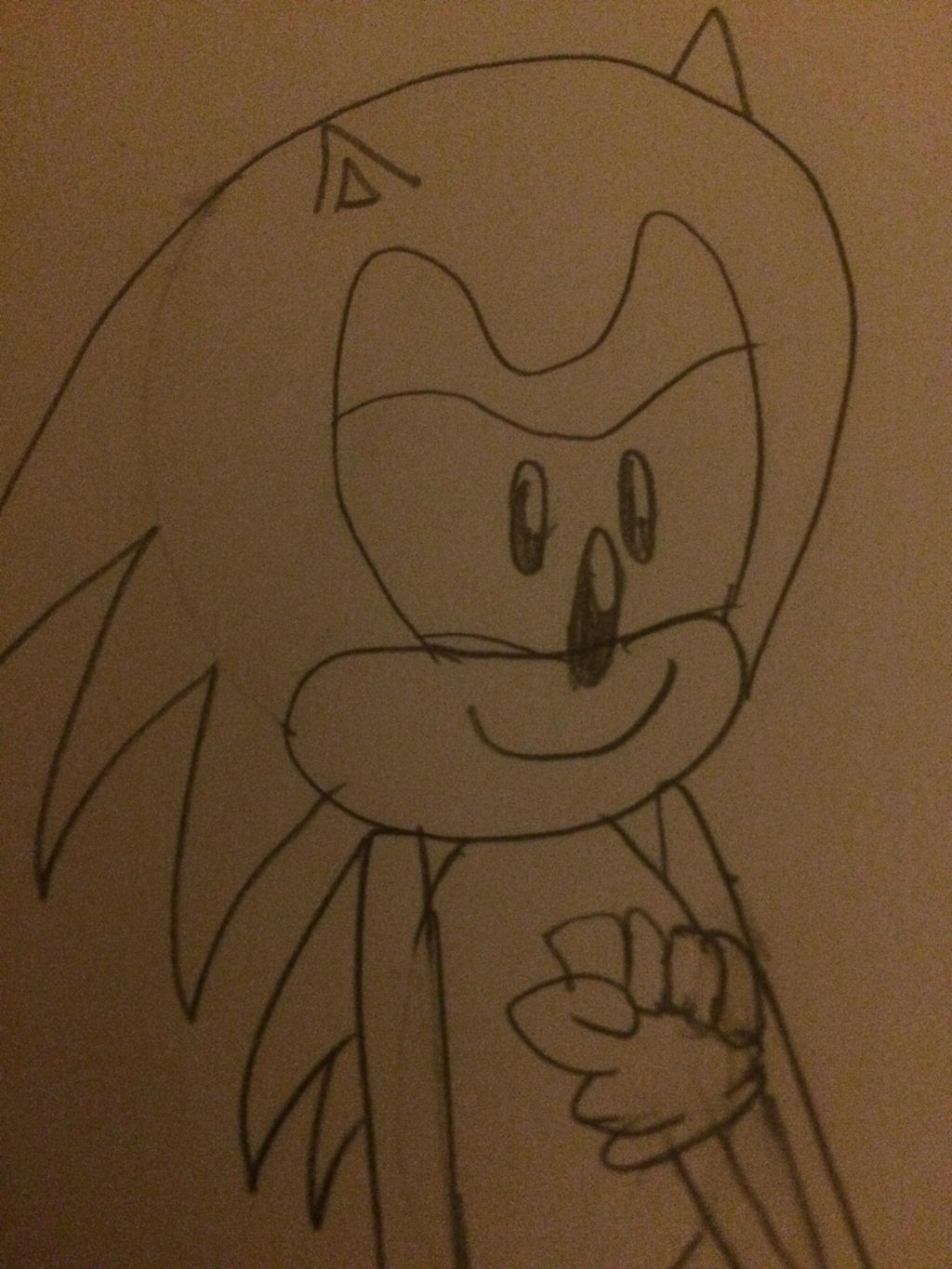 Classic Sonic (new groove style) by Ghostbustersmaniac
