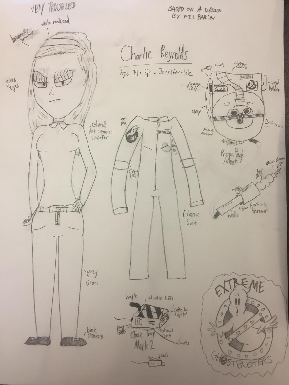 Charlie Reynolds (Extreme Ghostbusters OC) by Ghostbustersmaniac