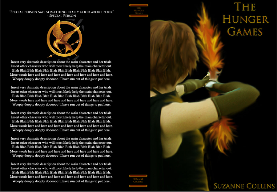 hunger games book report yahoo