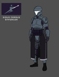Sidus-Cerus Enforcer Variant-B by cpeter2