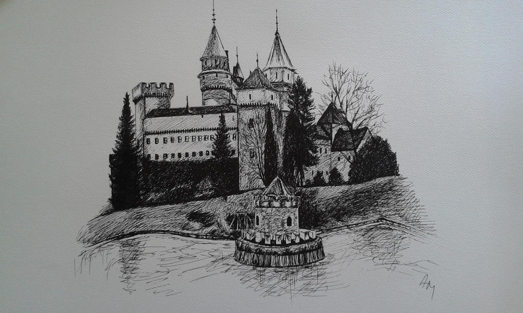Bojnice castle by SusHi182