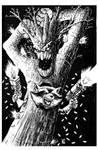 INKTOBER: Rocket and Groot