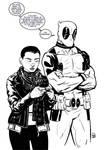 Negasonic Teenage Warhead and Deadpool