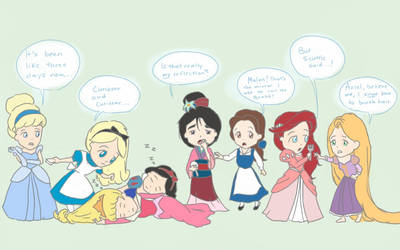Disney Meets Disney by Ellphie