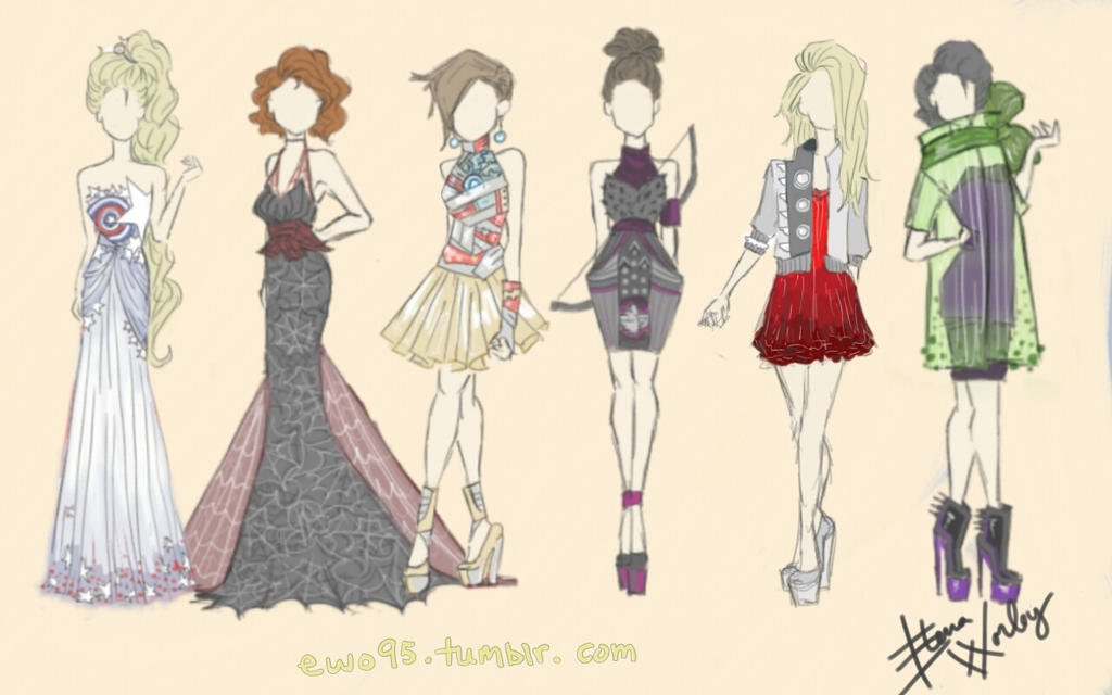 Avengers Fashion By Ellphie On DeviantArt