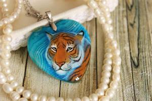 Winter tiger II by LunarFerns