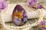 Fox and irises I
