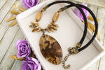 Archaeopteryx - prehistoric style necklaces