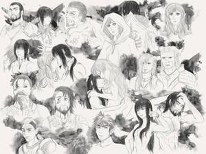 Dragon Age Doodles 1