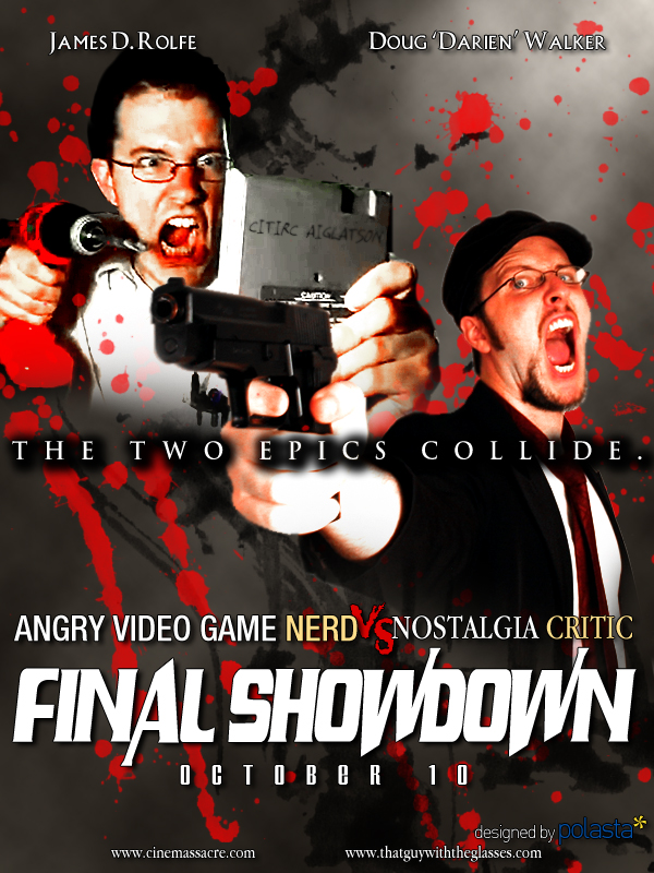 AVGN vs NC Poster by polasta