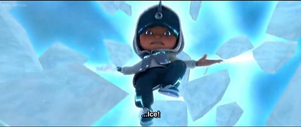 BoBoiBoy Ice by Manniey