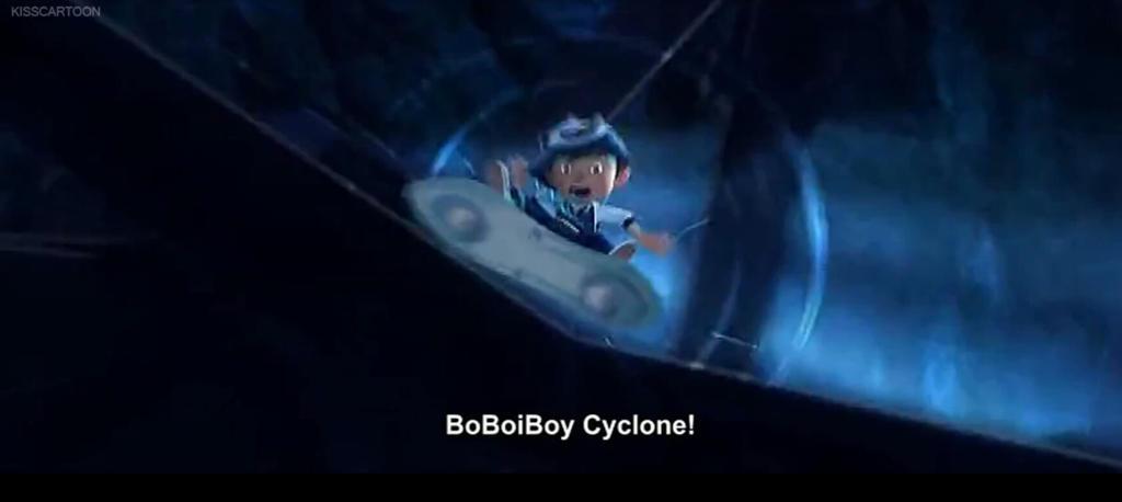 BoBoiBoy Cyclone  by Manniey