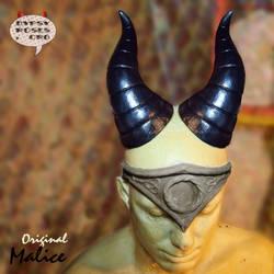 Original MALICE Horns in Eggplant Shimmer