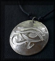 SS Eye of Ra pendant by che4u