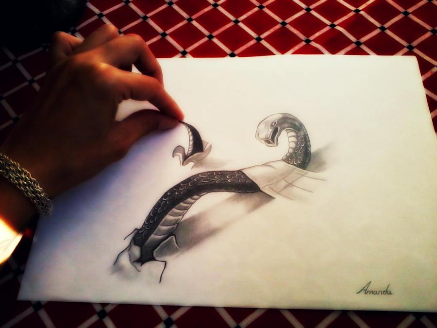 My snake xD by AmandaSantos-22