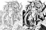 DRAGON LADY by KEVIN McCOY by CRUCASE