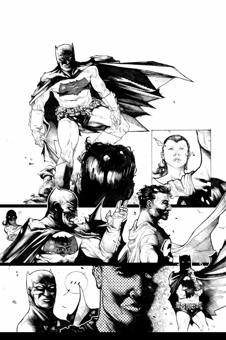 DK2 black and white page by CRUCASE