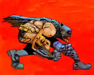 Batman by FRANK MILLER by CRUCASE