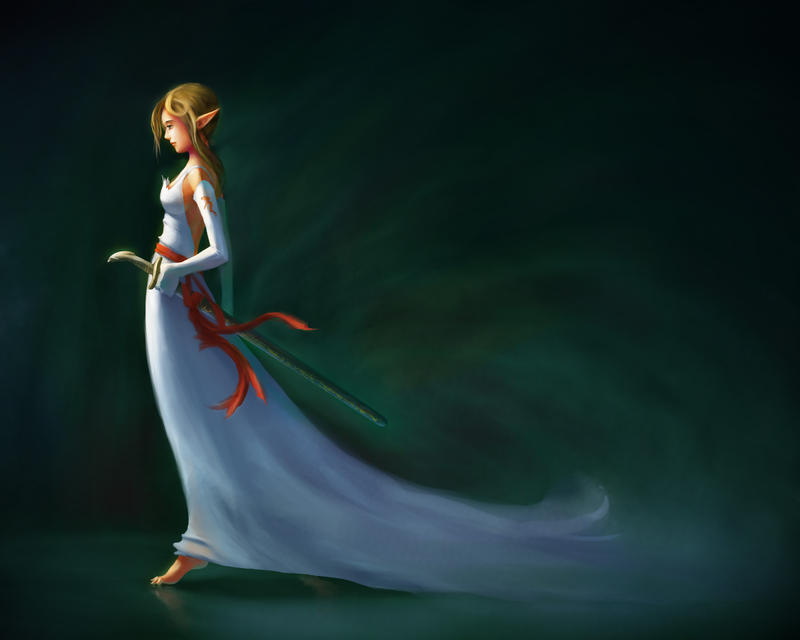 Elvan Sword Saint by JerryCai