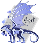 Ghost the Rainwing/Icewing [Reference Sheet]