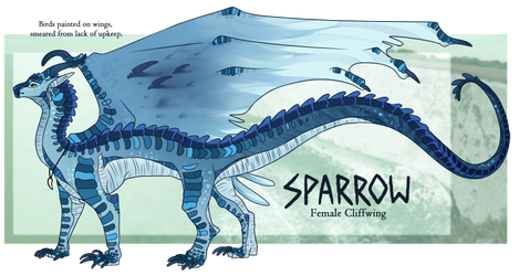 Sparrow the Cliffwing [WoF]