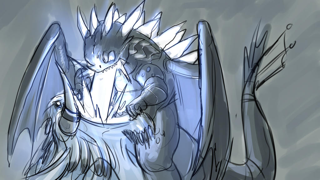 how to train your dragon red death vs bewilderbeast