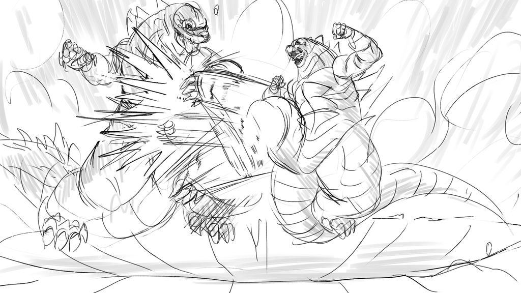Super Godzilla Kai Turbo by Drbuffalo
